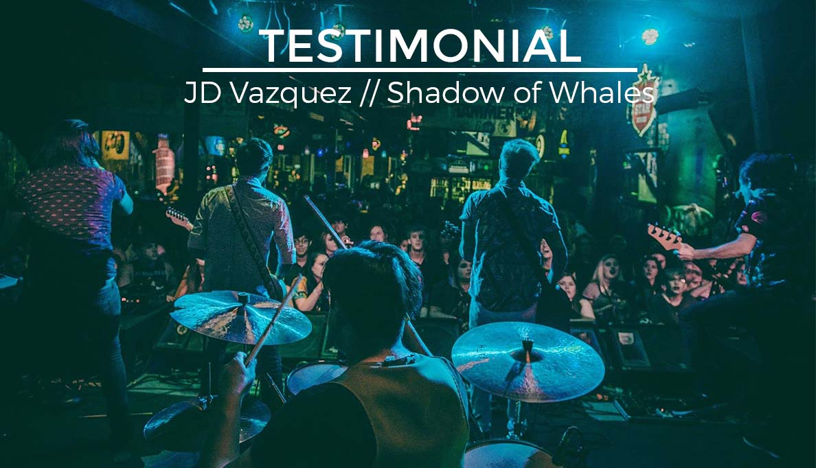 Testimonial JD Vasquez Shadow of Whales